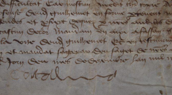 Pau – Projet de recherche ACRONAVARRE : Les ACtes ROyaux de NAVARRE aux XVe et XVIe siècles