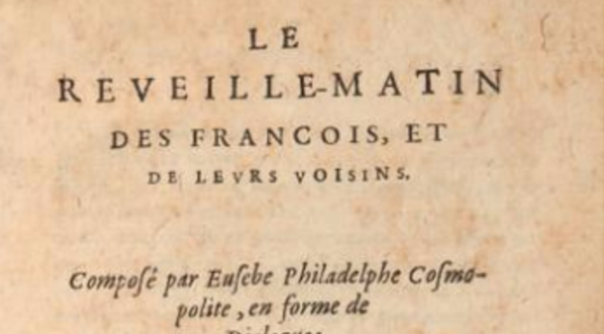 Parution : Le Reveille-matin des François